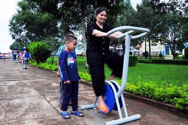 3 loại máy tập thể dục công viên được sử dụng nhiều nhất