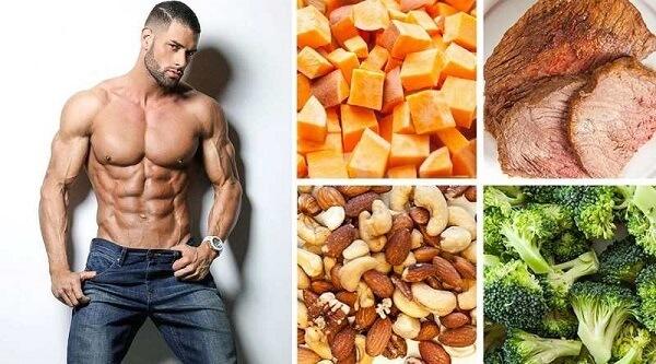 Bảng thành phần dinh dưỡng của thực phẩm khi tập tạ