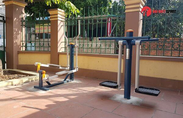 Chia sẻ cách tập luyện với máy tập thể dục ở công viên đúng cách