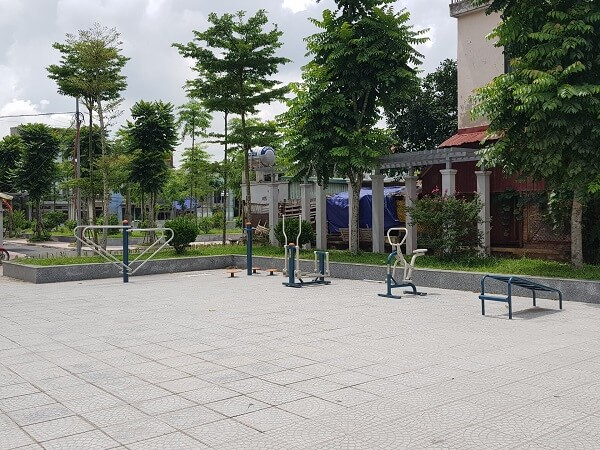 Máy tập thể dục ở công viên ở đâu tốt?