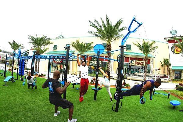 Máy tập thể dục công viên của hãng nào tốt?