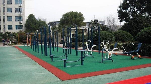 Tại sao người dân lại hào hứng với máy tập công viên ?